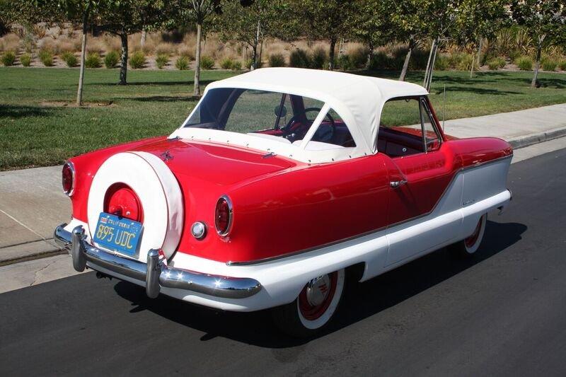 1960 Nash Metropolitan back