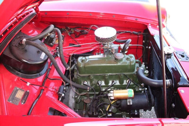 1960 Nash Metropolitan engine bay