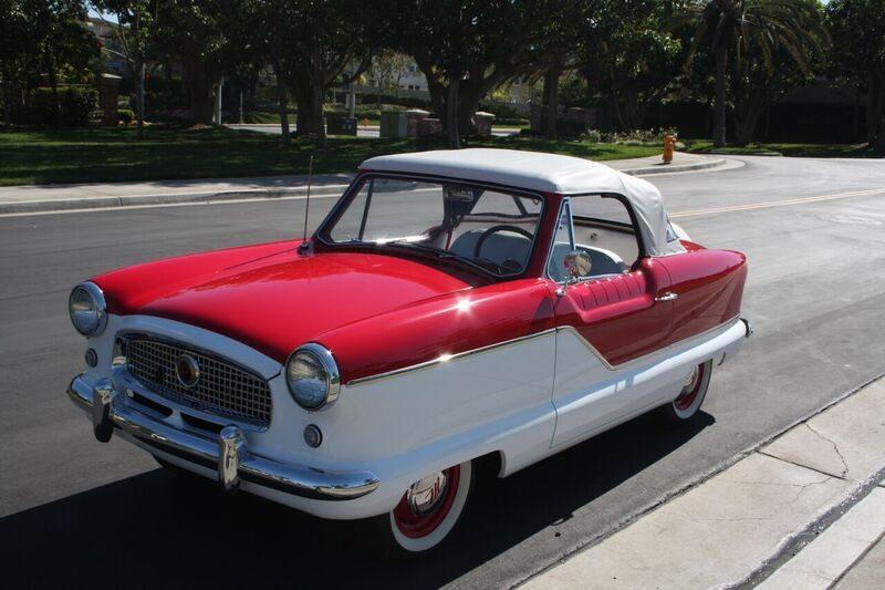 1960 Nash Metropolitan front
